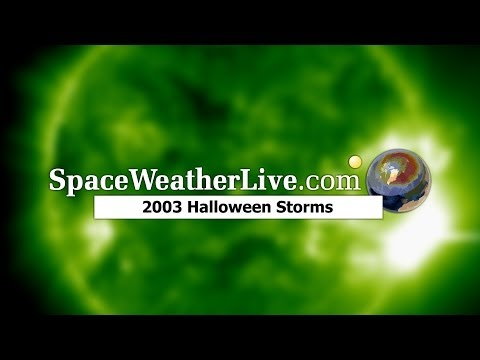 The Halloween Solar Storms of 2003