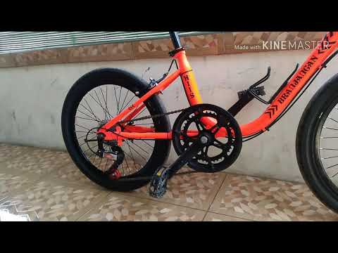 Sepeda Mini Phoenix 20 Modif