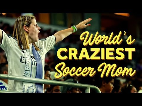 World's Most Passionate 'Soccer Mom' Lives And Breathes For Real Madrid