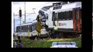Switzerland Zurich: Injuries as trains collide in Rafz