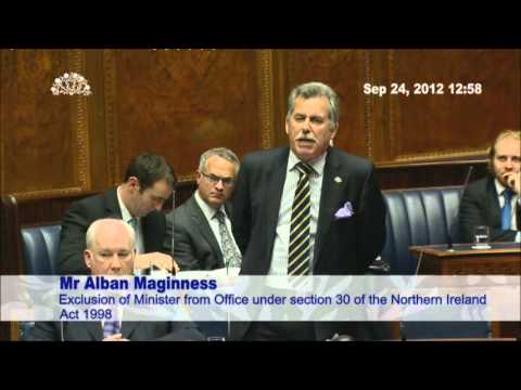SDLP's Alban Maginness: Bringing Accountability Back to the Assembly