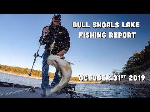 Bull Shoals Lake Fishing Report | Late October | Del Colvin