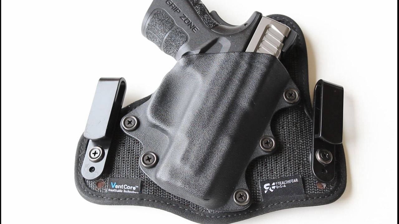Stealthgear USA Holster Review!! - WaiteProductions
