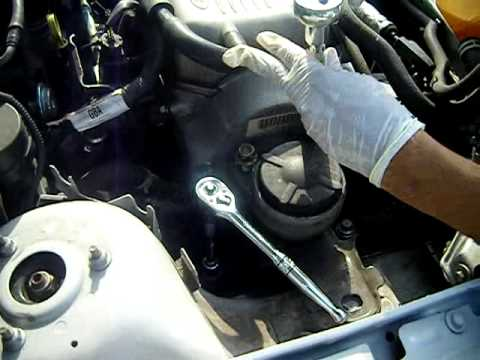 How to take replace motor mount part 2 youtube for Ford focus motor mounts vibration