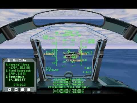 U.S. Navy Fighters & Marine Fighters (PC/DOS) 1994-95, Electronic Arts