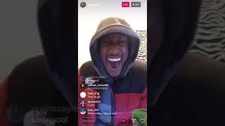 Yung filly funny insta live story time