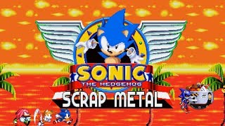 Sonic The Hedgehog: Scrap Metal (v.0.1.0) - Showcase - Fan Game