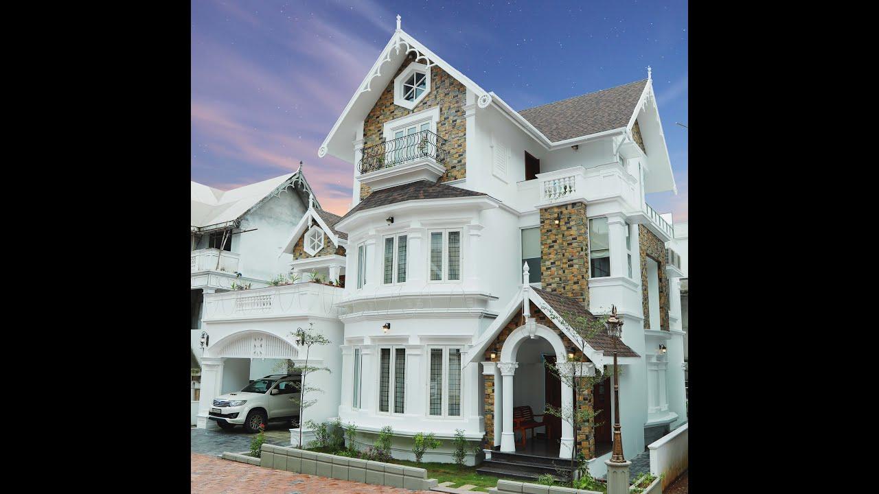 Luxury European 3 Bed Room villas   Best Interior Designers in Kochi,  Kerala   Greentech Interiors