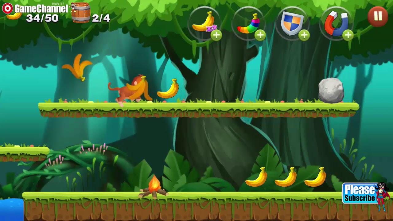 Free Online Platform Games No Download jungle monkey run / running adventure platform games / android gameplay  video