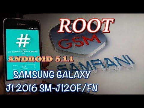 ROOT SAMSUNG GALAXY J1 2016 SM-J120F/FN ANDROID 5.1.1