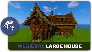 minecraft medieval building build tutorial