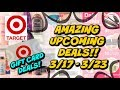 AWESOME UPCOMING TARGET DEALS | (3/17 - 3/23) GIFT CARDS GALORE!