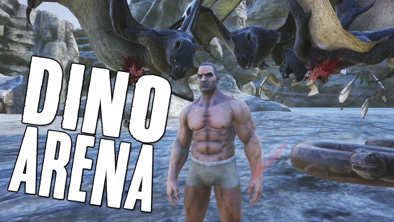 play as dino ark mod