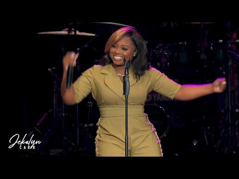 Changing Your Story by Jekalyn Carr (Official Live Video) ( @ the Cellairis Amphitheatre  Atlanta GA