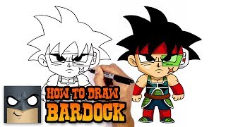 How to Draw Bardock | Dragon Ball Z