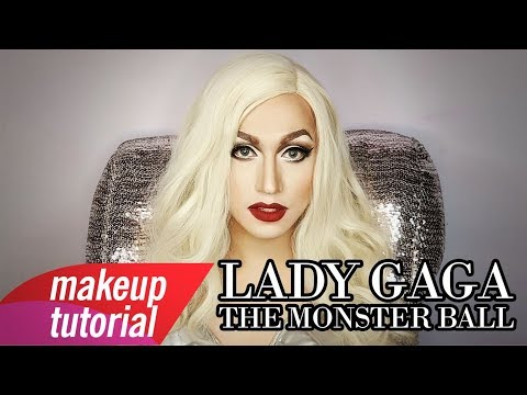 Lady Gaga The Monster Ball Makeup Tutorial (Full Face Using Sparkle Cosmetiks) Mp3