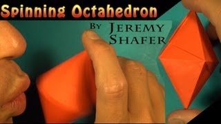Spinning Octahedron by Jeremy Shafer