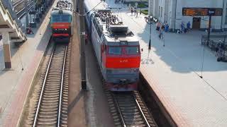 Електровоз ЧС4Т-382 (ТЧЭ-41 Вязьма-Сортувальна)
