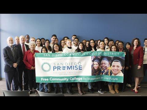 The San Diego Community College District Announces Promise Program Expansion