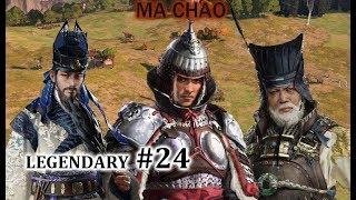🎥 Total war: Three Kingdoms(Mã Đằng)#24: Đánh  nhau với Tống Quốc hết clip !!!!!