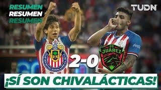 Resumen y Goles | Chivas 2 - 0 FC Juárez | Liga MX - CL 2020 J1 | TUDN