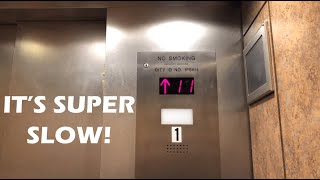 SLOW Unknown Traction Elevators - NYMA, The New York Manhattan Hotel in New York, NY