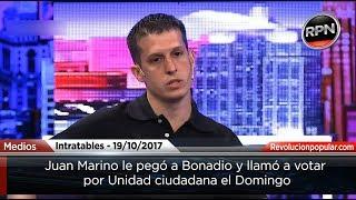 Juan Marino le pegó a Bonadio y llamo a votar por Cristina el Domingo
