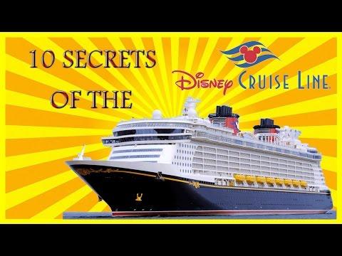 Top 10 Secrets of the Disney Cruise Line Ship