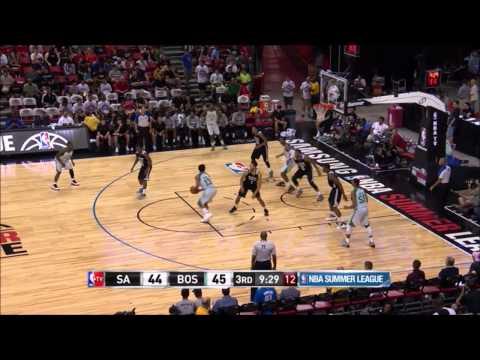 James Young vs Spurs at Las Vegas Summer League - 16 pts, 8 reb, 3 ast