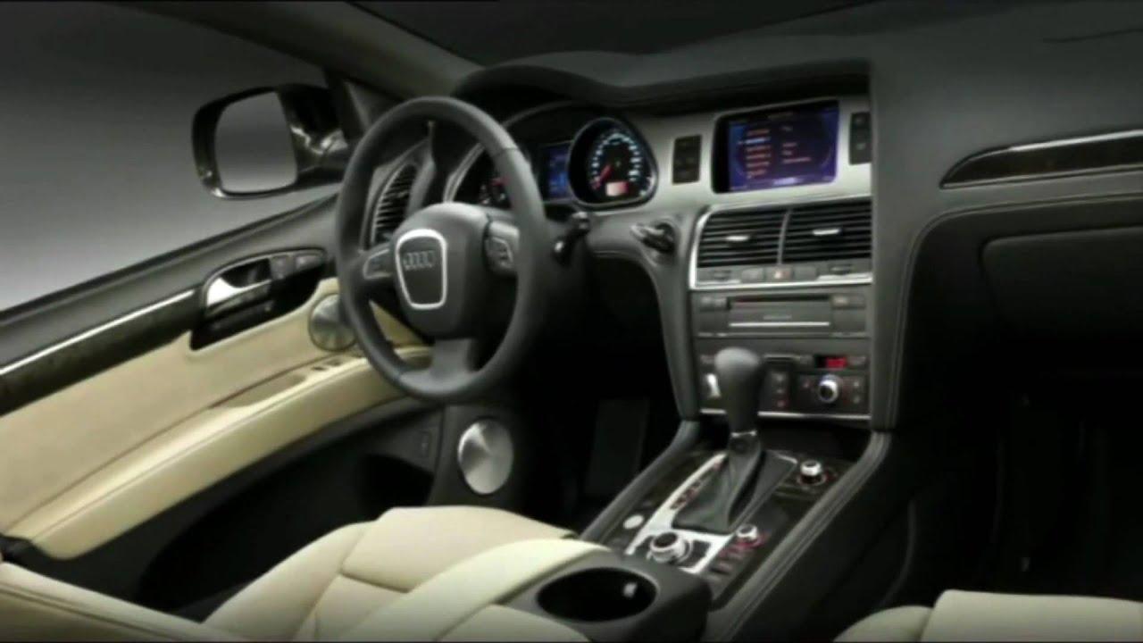 2010 Audi Q7 Interior(European Model) - YouTube