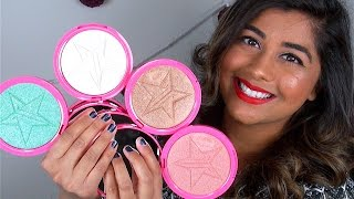 new jeffree star skin frost highlighters worth the hype