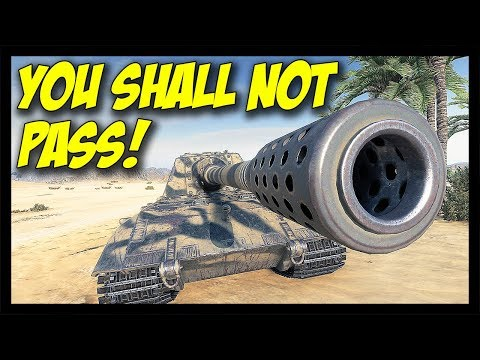 ► You Shall Not Pass The JagdPanzer E-100! - World of Tanks