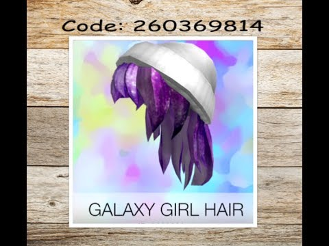 girl hair ids for roblox