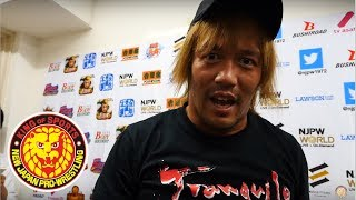 G1 CLIMAX 28 Night5 (July 20) - Post-match Interview [3rd match] thumbnail