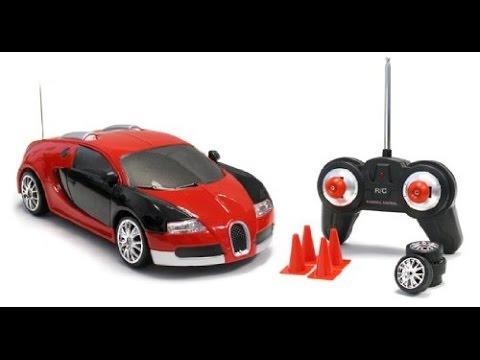 Bugatti Veyron Coches Juguetes A Control Remoto Youtube
