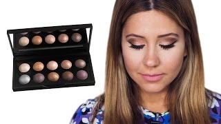 How To Take Your Eye Shadow From Day To Night With E.L.F Baked Eye Shadow Palette + GIVEAWAY