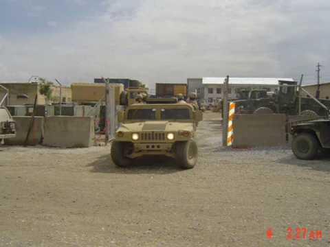 Bagram Air Field Afghanistan, 2005