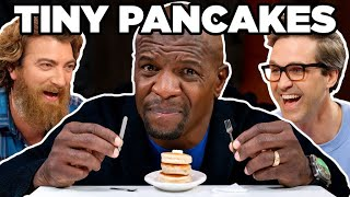 Big Man Tiny Food Challenge ft. Terry C...