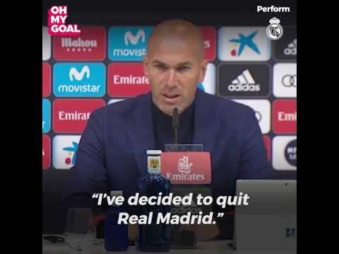 The secret reason why Zidane left Real Madrid 😮