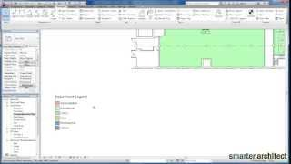 Revit Tutorials: Color Scheme by Department