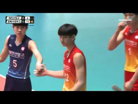 2016 Spring Season Korea High school Volleyball Tournament - Final match 4set