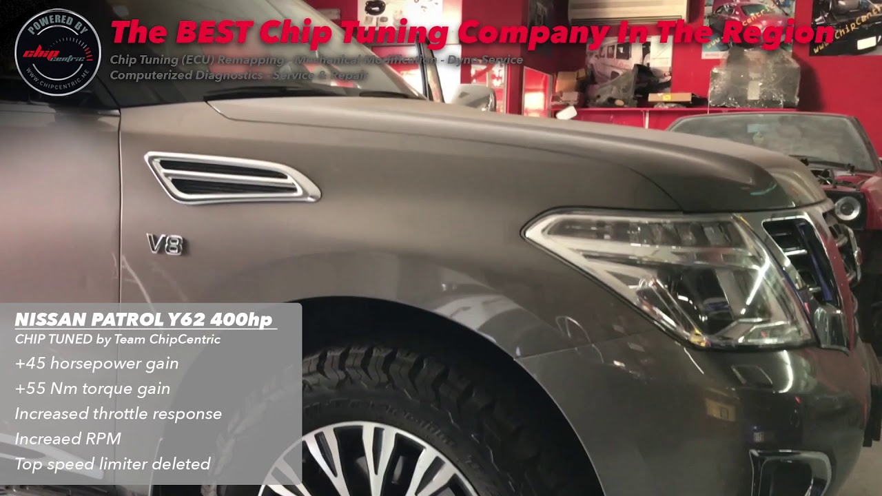 ChipCentric - Chip Tuning - Nissan Patrol Y62 400hp