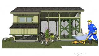 Ms210 - Chicken Coop Plans Construction - Chicken Coop Design - How To Build A Chicken Coop