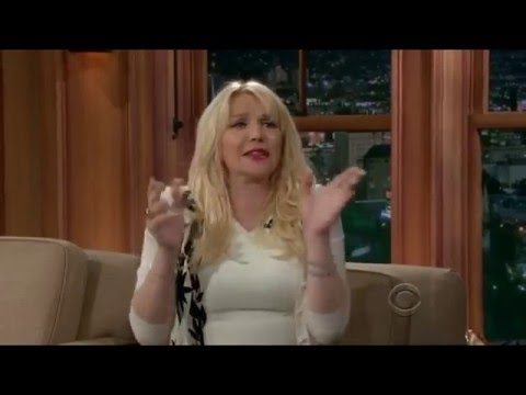 Courtney Love on Craig Ferguson Late Late Show, FULL interview
