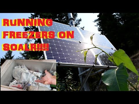 OFF GRID LIVING: RUNNING A HOUSEHOLD OF APPLIANCES ON SOLAR