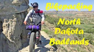 Bikepacking The Maah Daah Hey Trail, North Dakota Badlands