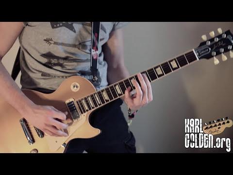 Walk - Foo Fighters Cover - Full Song - Instrumental (Guitar/Drums/Bass) - Karl Golden