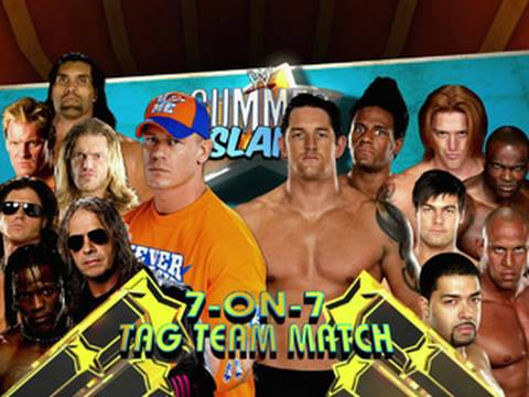 Wwe Nexus Vs John Cena Team John Cena leads...