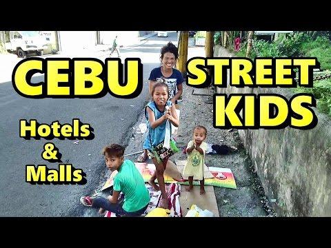 Cebu Street Kids, Hotels, & Malls in Cebu Philippines