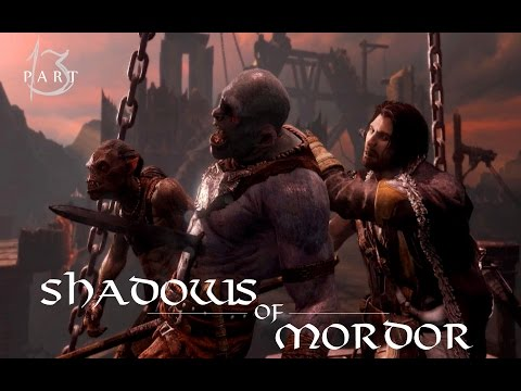 Lets Play BLIND Shadow of Mordor PC [GER] Part 13- Mogg, der andere Zwilling